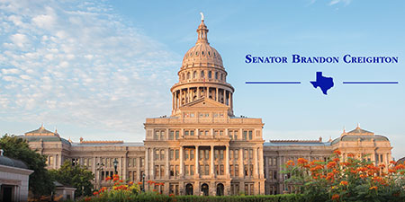 Sen. Creighton's E-Newsletter signup banner graphic