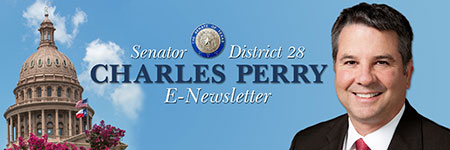 Sen. Perry E-Newsletter signup banner graphic