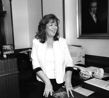 Nanci Longoria, assistant to the Secretary of the Senate